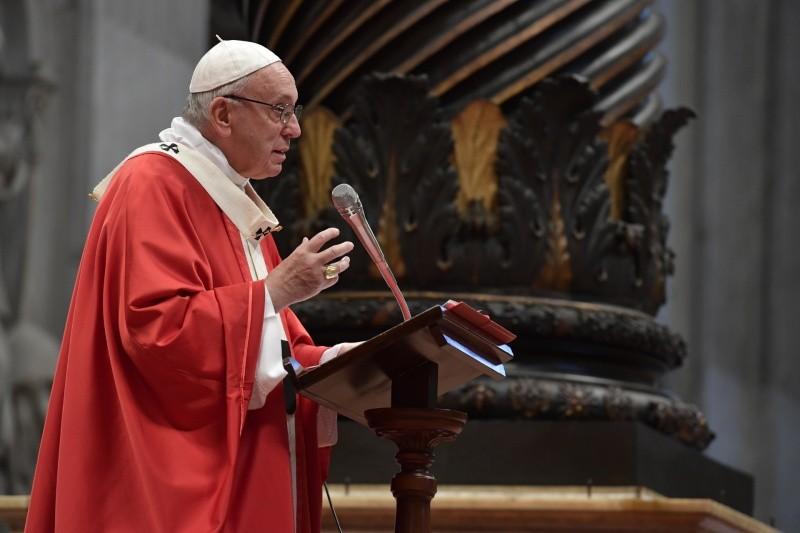 Homilia do Papa Francisco na Solenidade dePentecostes