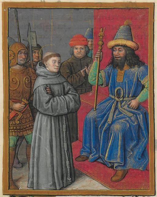 O encontro de São Francisco de Assis com oSultão